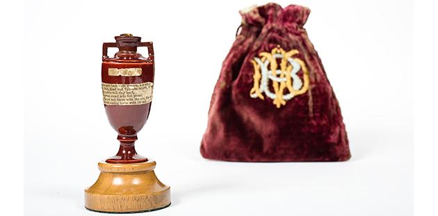 SLV Ashes Urn (c) Marylebone Cricket Club