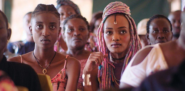 MQFF Samantha Mugatsia as Kena and Sheila Munyiva as Ziki in Rafiki
