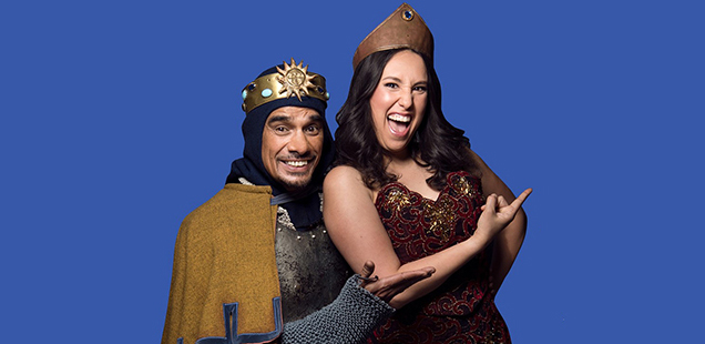 Spamalot Cramer Cain and Josie Lane
