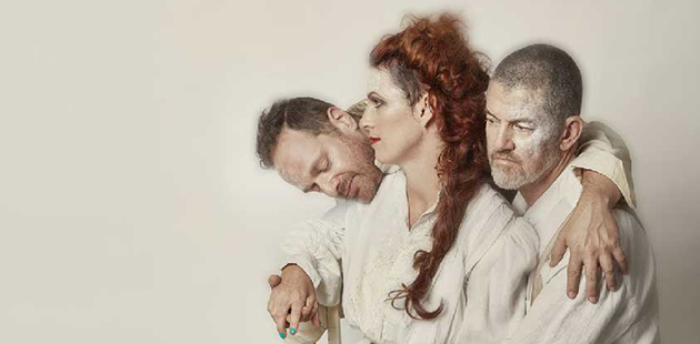 Dan Witton, Jenny M. Thomas and Chris Lewis are Bush Gothic - photo by Michelle Jarni