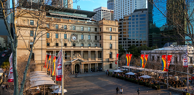 AAR Customs House - courtesy of City of Sydney