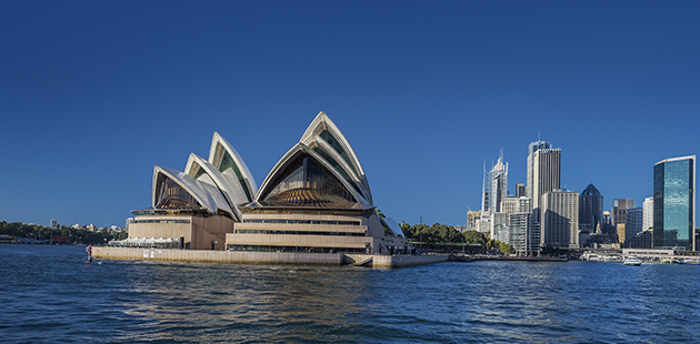 Sydney Opera House - photo by Hamilton Lund