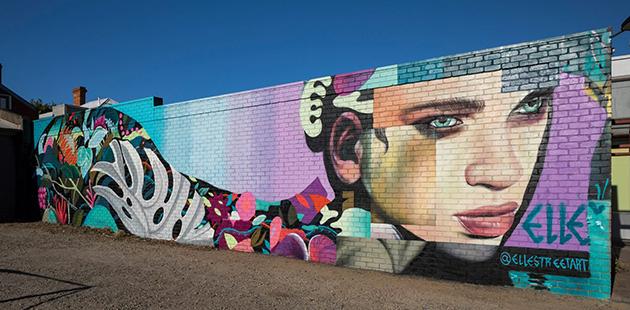 Wall to Wall Festival Elle Street Art