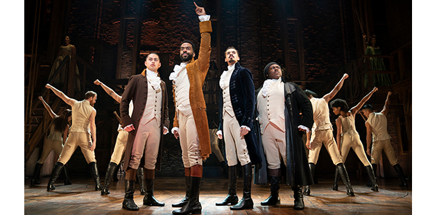 HAMILTON National Tour Company - photo by Joan Marcus