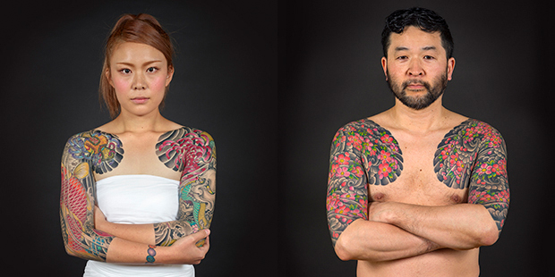 MV Perseverance Japanese Tattoo Tradition in a Modern World - photo by Kip Fulbeck