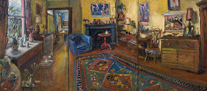 Margaret Olley Yellow Room Triptych 2007 AAR