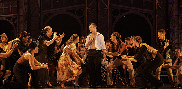 WAAPA Strictly Ballroom - photo by Jon Green