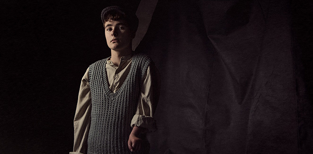 AAR William Rees stars as Billy in The Cripple of Inishmaan - photo by Marnya Rothe Photography