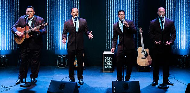 ACM Modern Maori Quartet - photo by Josh Griggs Photography
