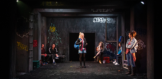 RSAT Pomona Arthur Angel, Dion Mills, Mona Mina Leon, Julia Grace, Artemis Ioannides, Jessica Clarke - photo by Teresa Noble