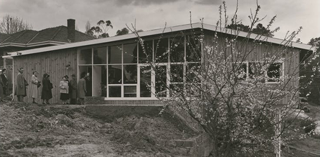 RVIA Small Homes Service Wolfgang Sievers. Pictures Collection, State Library Victoria