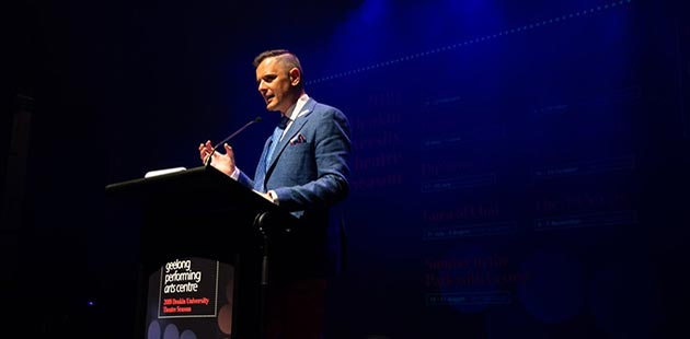 Joel McGuinness Geelong Arts Centre Chief Executive Officer
