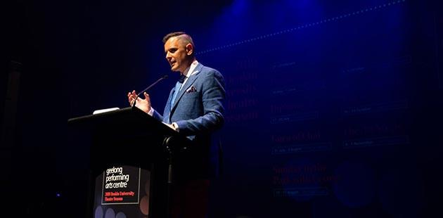 Joel McGuinness Geelong Arts Centre Chief Executive Officer