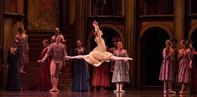 Queensland Ballet Romeo & Juliet - Soloist Mia Heathcote - photo by David Kelly