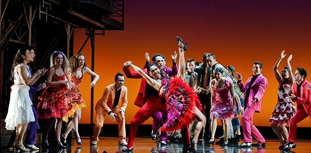 West Side Story Australian Cast - photo by Jeff-Busby