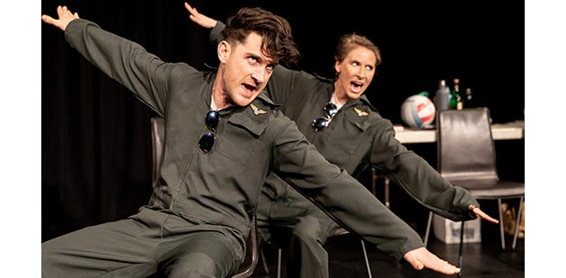 AAR Salty Theatre Top Gun The Musical - photo by Ben Fon