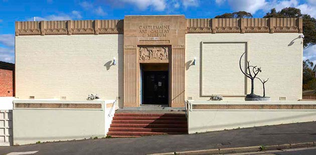 Castlemaine Art Museum - photo by Fred Kroh