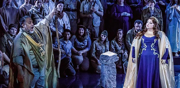 Melbourne Opera Norma - photo by Robin Halls