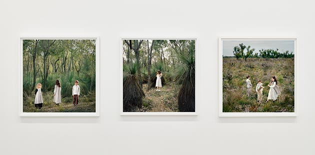NGV Olympia Photographs by Polixeni Papapetrou - photo by Tom Ross