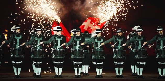 Royal Edinburgh Military Tattoo Top Secret Drum Corp