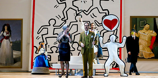AAR Opera Australia's 2019 production ofIl Viaggio a Reims - photo by Jeff Busby