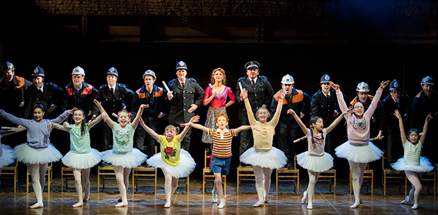 Billy Elliot - The Musical Australian Cast - photo by James D. Morgan