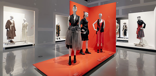 Collecting Comme (Installation view at NGV International) © Comme des Garçons - photo by Tom Ross