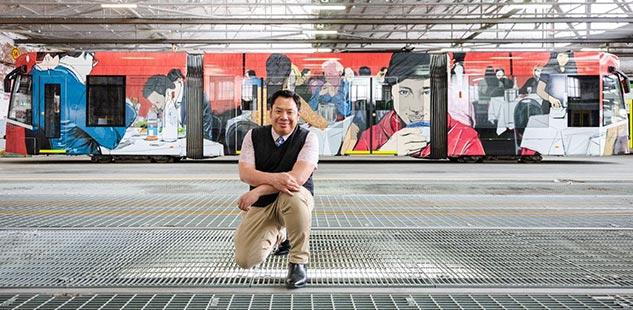 MIAF Melbourne Art Trams 2019