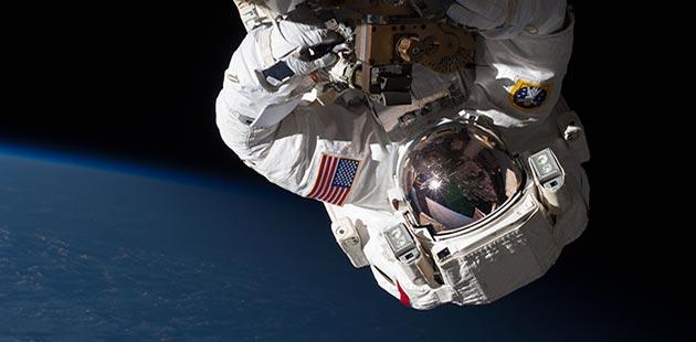 NASA - International Space Station Space Walk