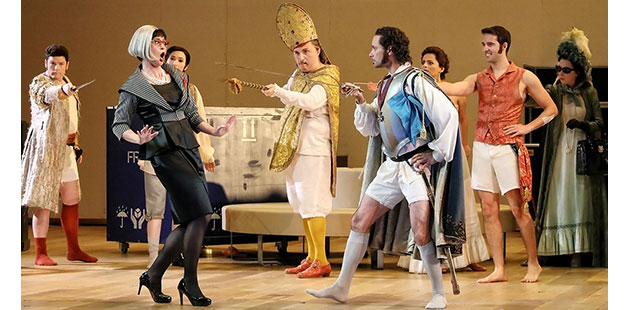 Opera Australia Il Viaggio a Reims at the Sydney Opera House - photo by Prudence Upton