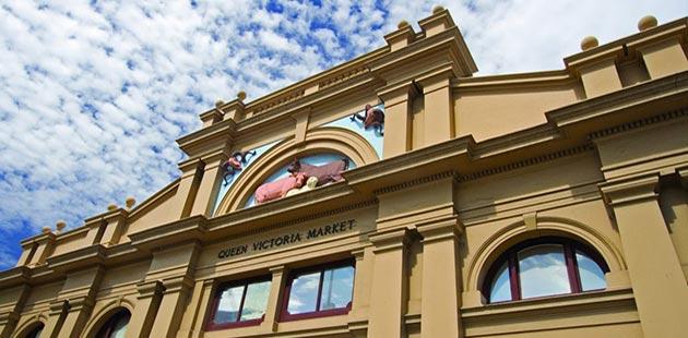 Queen Victoria Market - courtesy of City of Melbourne