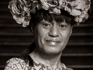 Sanjeev Singh, Amao Leota Lu - a fa'afafine performer speaker and activist (detail)