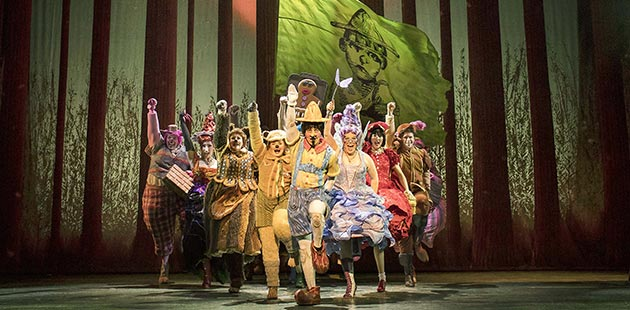 Shrek The Musical - photo by Helen Maybanks