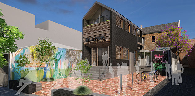 AAR Renders of the new La Mama Theatre - courtesy of Cottee Parker Architects