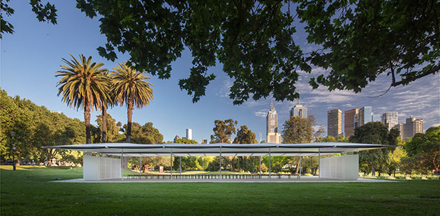MPavilion Glenn Murcutt - photo by John Gollings