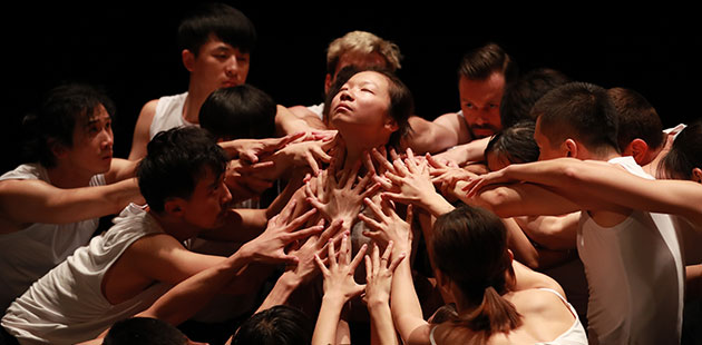 Stephanie Lake's work Auto Cannibal in Matrix - photo by YIN Peng