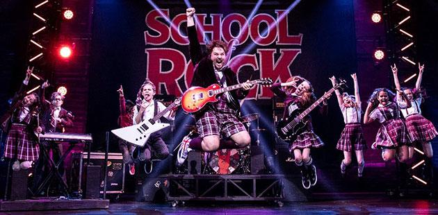 The School of Rock - photo by Matt Murphy