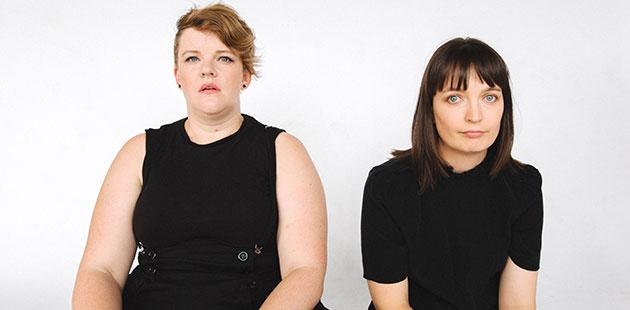WITInc. Totally Fine Jennifer Piper and Belinda Campbell - photo by Jack Dixon-Gunn