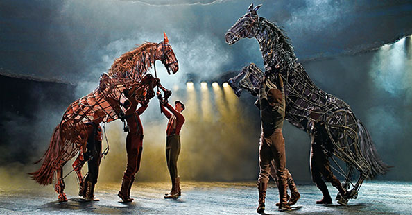 War Horse at the New London Theatre - photo by Brinkhoff Mögenburg