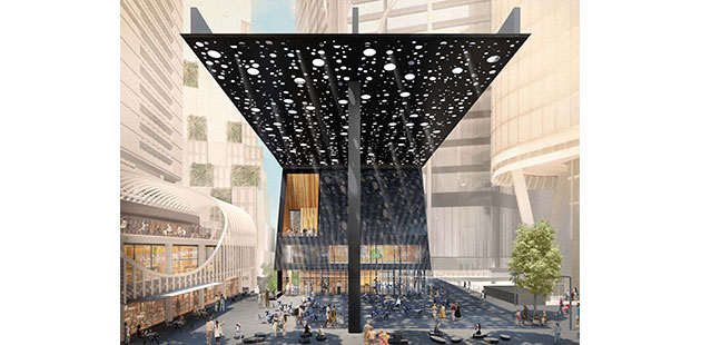 AAR Sydney Plaza - courtesy of Adjaye Associates