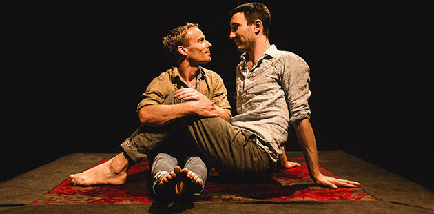 Casus Circus Lachlan McAulay and Jesse Scott star in You & I - photo by Katie Bennett