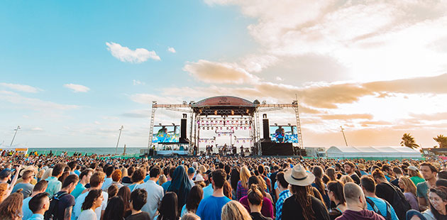 St Kilda Festival Main Stage - photo by Nathan Doran