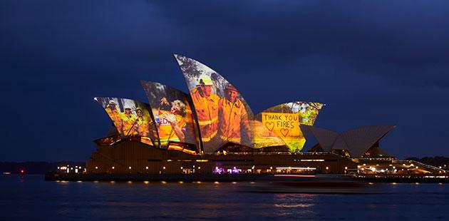 Sydney Opera House Sails - photo by Ken Leanfore