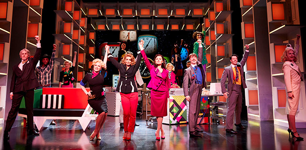 9 to 5 The Musical (West End Cast) - photo by Pamela Raith Photography