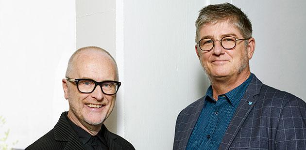 AAR Musica Viva CEO Hywel Sims and AFCM Executive Director Gavin Findlay
