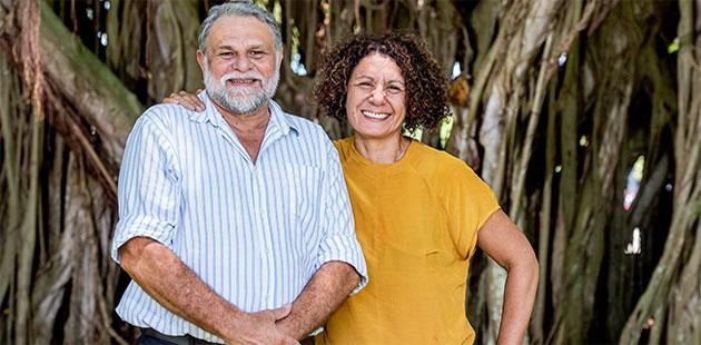 CIAF Darrell Harris and Janina Harding
