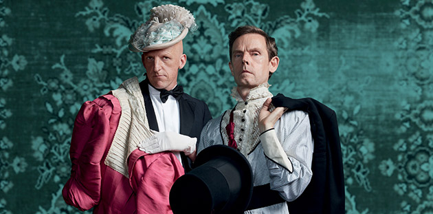 Malthouse Theatre Ridiculusmus The Importance of Being Earnest Invitation - photo by Zan Wimberley