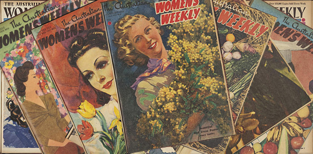 NLA Women's Weekly Covers 1940s