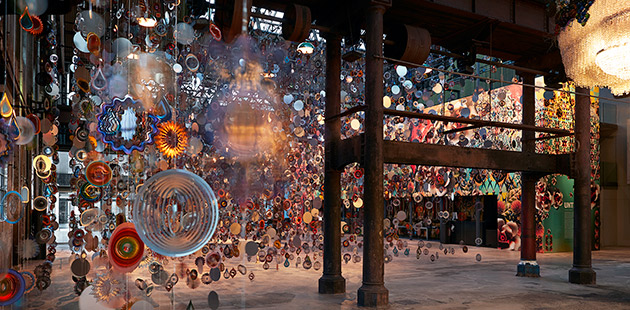 Nick Cave, UNTIL (Installation view, Carriageworks, 2018) - photo by Zan Wimberley