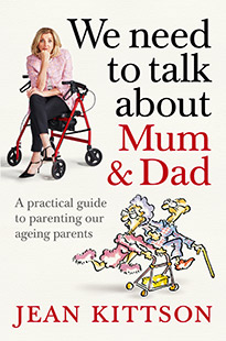 Pan Macmillan Australia Jean Kittson We Need to Talk About Mum and Dad